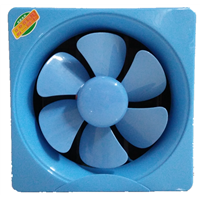 "blue 10"" household exhaust fan ventilating fan"