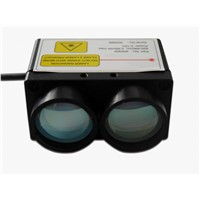 200m mini high speed laser rangefinder with RS232 interface 200hz measurement accuracy +/-10cm