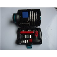 26 piece hand torch tool set with LED
