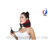 high quality medical inflatable rubber cervical neck traction