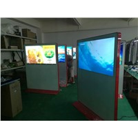 65 inch standing lcd advertising monitor