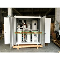 Vacuum Gear Oil Cleaning Machine, Hydraulic Oil Purifier Machine, Lube Oil Filtration System