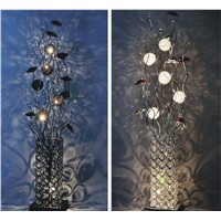 Wholesale indoor crystal modern floor lamp