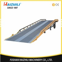 10 ton heavy duty mobile truck container loading ramp with cheap price