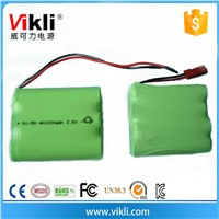 3.6V Nimh rechargeable batteries 1000mah