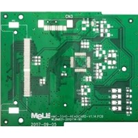 Chinese double sided Lead free HASL PCB