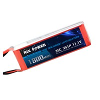 RC LIPO BATTERY  1800MAH 35C 3S