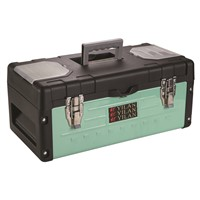 double side plastic tool box