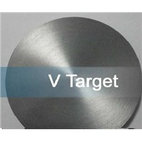99.99% High Pure Vanadium Sputtering Targets