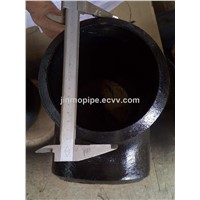 EN10253-1 EN10253-2 Butt Weld Steel Pipe Tee