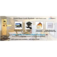 Electronics RF Card Hotel Lock Management System
