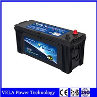 Factory Supply N120 Maintenance Free Lead Acid Truck Battery