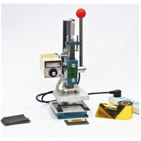 Hot foil stamping machine leather debossing machine 2 in 1 (10x13cm) 220V