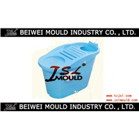 Plastic bath bucket mould made in China