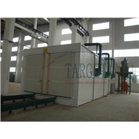 Automatic Air Sand Blast Cleaning Room with Recovery System