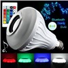 Smart RGBW Wireless Bluetooth Speaker Bulb Music Playing Dimmable 12W