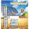Solar Water Well Powered Submersible Deep Well Solar Pump for Lusaka Zambia