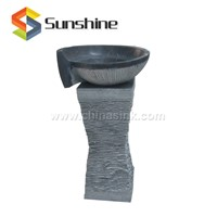 Bluestone Natural Stone Pedestal Sink