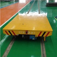 Anti high temperature Coil car rail transfer cart for heavy cargo