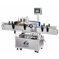 GLB-513 Automatic round wine water oil bottles labeling machines