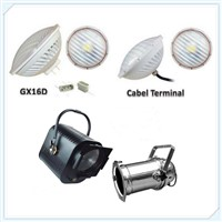 LED Stage Light 30W 50W RGB / White Light Dimmable LED PAR56 Light for Stage Decoration NSP MFL WFL