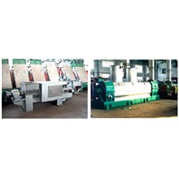 Single Screw Press Machine Screw Dewaterer Machine Pulping Machine