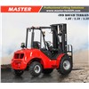 Master 3.5Ton 4WD Rough Terrain Forklift with Japanese Yanmar engine