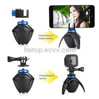 360 degree rotation show self stick with bluetooth for phone,camera,dv
