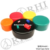 PVC pipe end cap/plastic end cover for tube