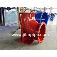 Double Flanged Duckfoot Bend, Ductile Iron Pipe Fittings