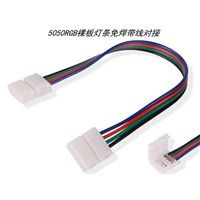 4pin 10/12mm RGB LED PCB strip connector adapter