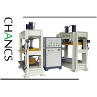 High Frequency Curved Plywood Press for Plywood Bending--CHANCS MACHINE