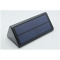 Triangle 3W Solar Sensor LED Wall Lamp Outdoor Waterproof