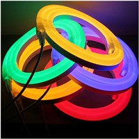 hotsale clear warm white waterproof ip68 led neon flex 24 Volt