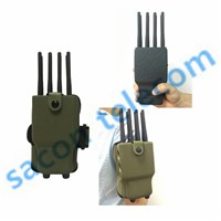 New 8 antennas portable jammer with case jam GPS, 4G, Wimax supplier, Cell phone blocker supplier