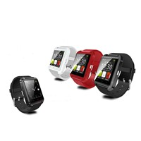U8 smart watch phone bluetooth touch screen