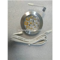 Recessed led cabinet light