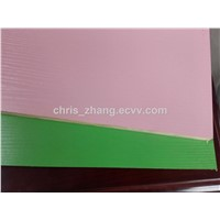 1220*2440mm White/Blue/Green/Pink/Yello Color Waterproof Polyester Plywood