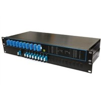 "4,8,16,18-CH CWDM Mux/Demux Packed in 19"" Rack"