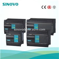 plc motion controller SINOVO Model H24S2R High performance PLC with expansion