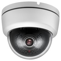 25M IR 3.5-inch Plastic Dome Indoor IP Camera