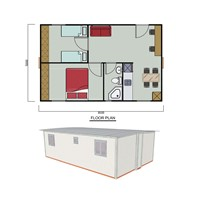 40m2 Expandable House 2 Hours To Set Up  Any Floor Plan Available