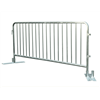 1.1 x 2.5m Per Panel Metal Crowd Control Barriers Easy Assembly with 32mm Frame
