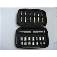 14pcs promotional gift tin box tool bags