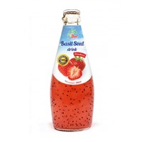 Basil Seed Drink Strawberry