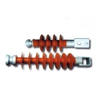 33KV Silicone Composite Pin Insulator for Mounting on Steel Cross Arms