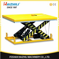 1000KG 1700MM Heavy Duty Stationary Electric Hydraulic Scissor Lift Table For Warehouse