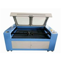 CNC Textile Laser Engraving/Cutting Machine HQ1210/2 Laser Heads