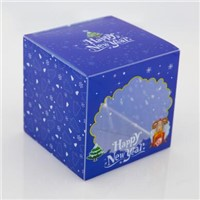 Plastic gift box custom made fancy packaging container