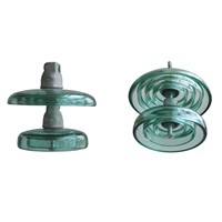 120kn Toughened Glass Suspension Insulators